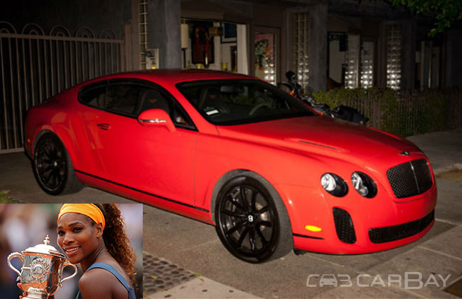 Continental car - Color: Red  // Description: adorable