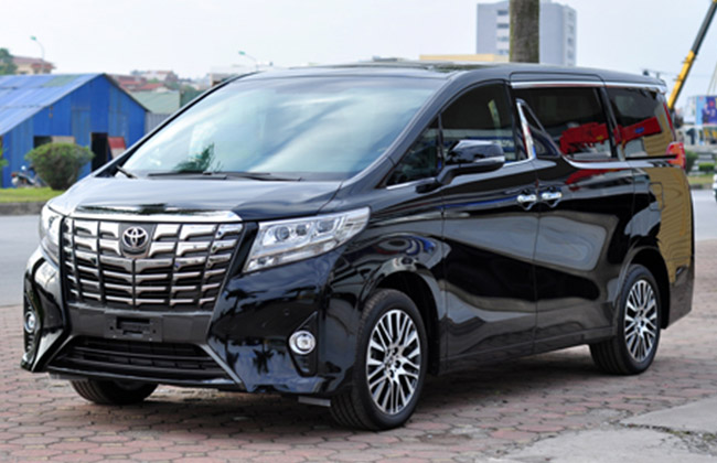 Toyota Alphard 2016 Xuat Hien Tai Ha Noi 21136940 on kia sedona lights