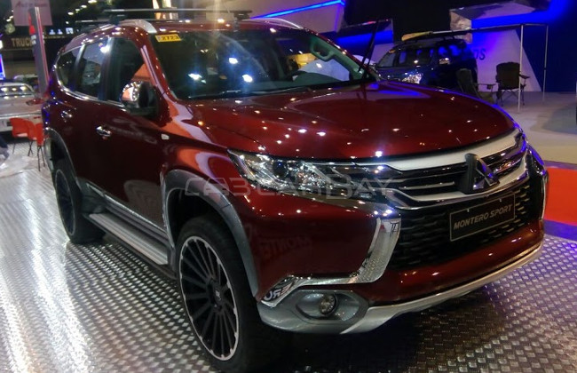 Look out For All-New Mitsubishi Montero Sport at 2016 MIAS | CarBay