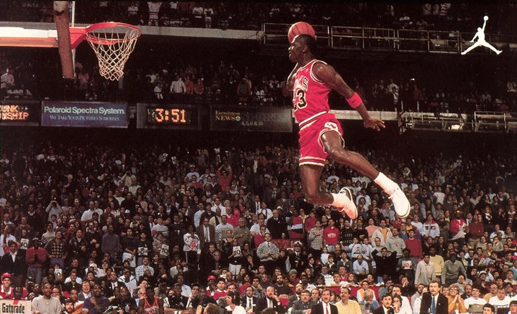 Michael Jordan Jumping