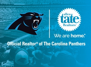 Since 2007, Allen Tate has been the Official Realtor of the NFL Carolina Panthers.