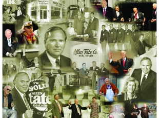 The many faces of Allen Tate through six decades of real estate excellence