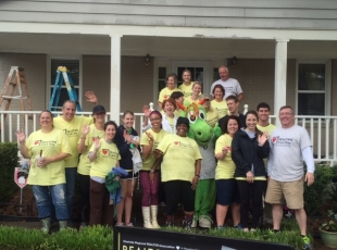 The annual Realtors Care Day helps those less fortunate enjoy the comfort and safety of home
