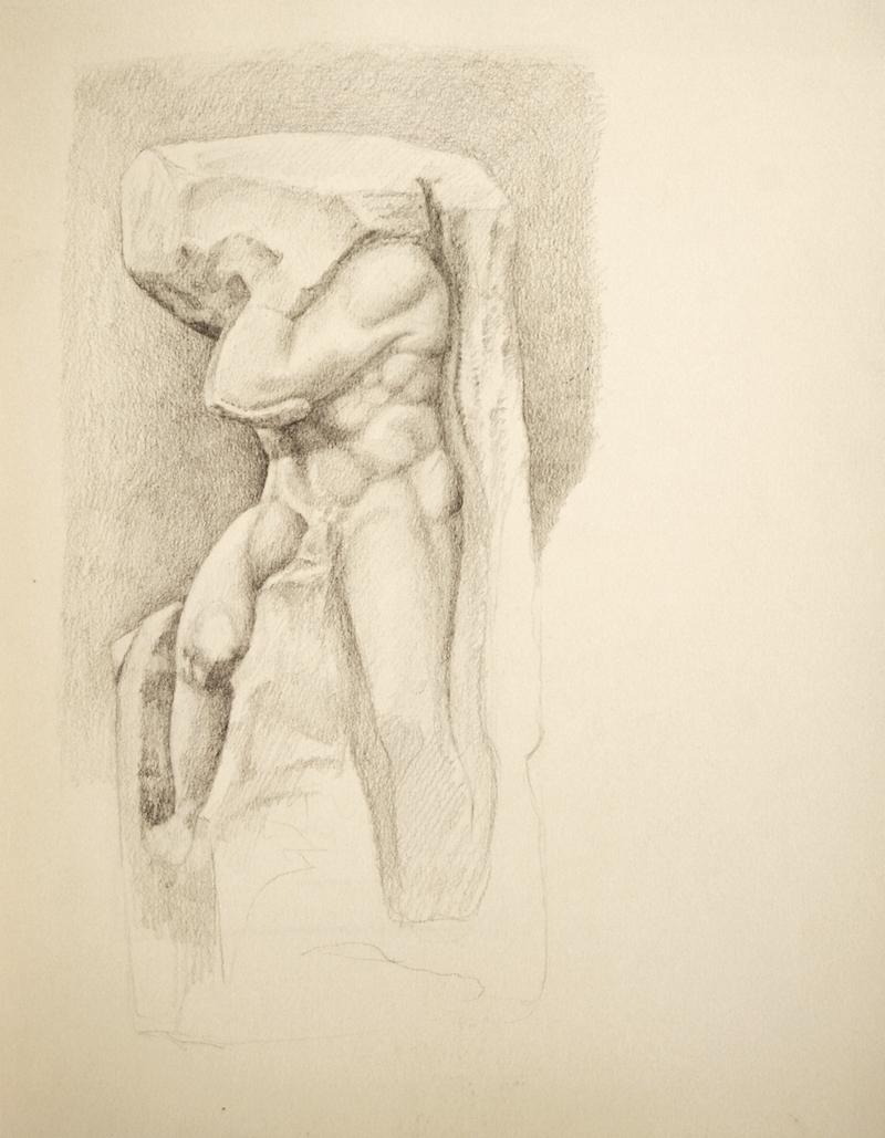 Accademia (Michaelangelo study)