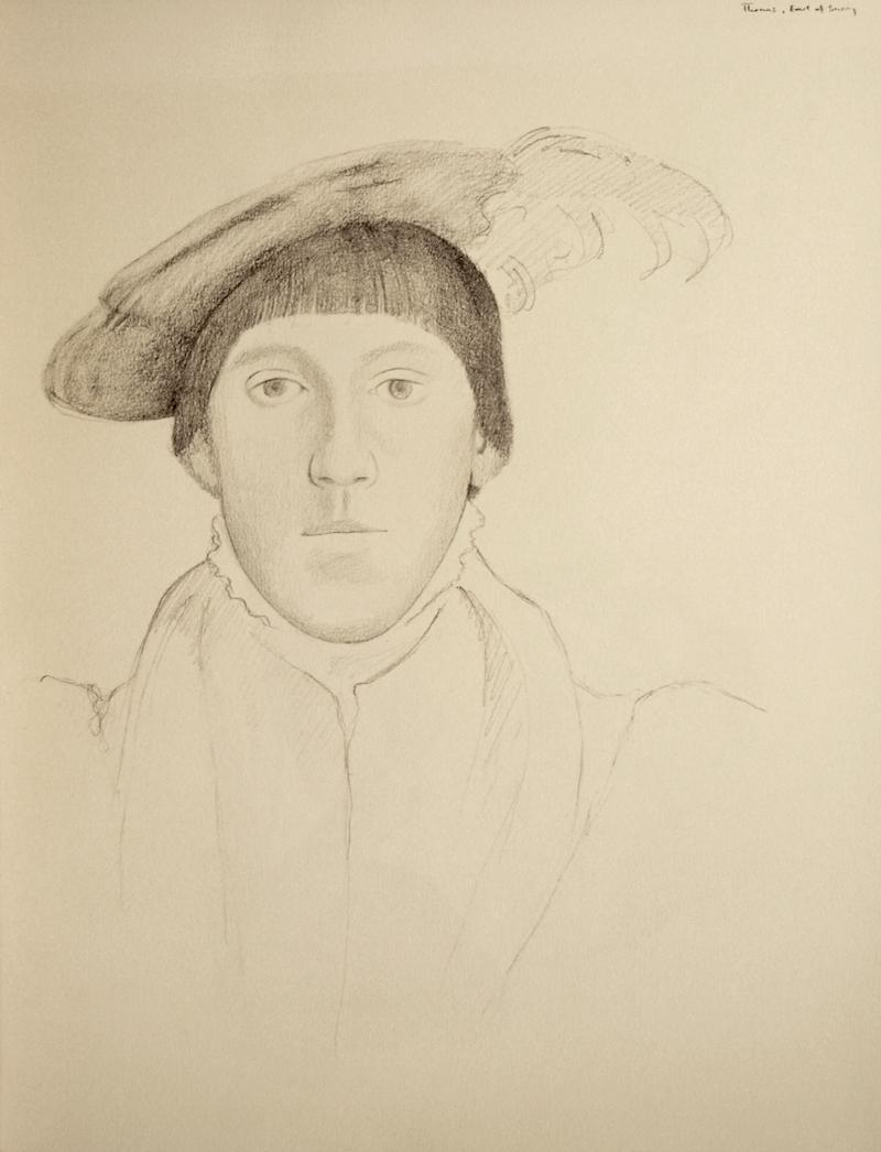 Uffizi (Holbein study)