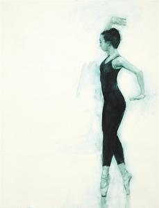 Ballet Cymru rehearsal 5 (Gwen)