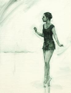 Ballet Cymru rehearsal 11 (Anna)