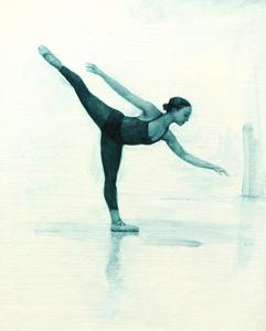 Ballet Cymru rehearsal 12 (Krystal)