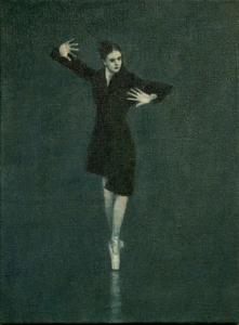 Ballet Cymru rehearsal 13 (Ann)