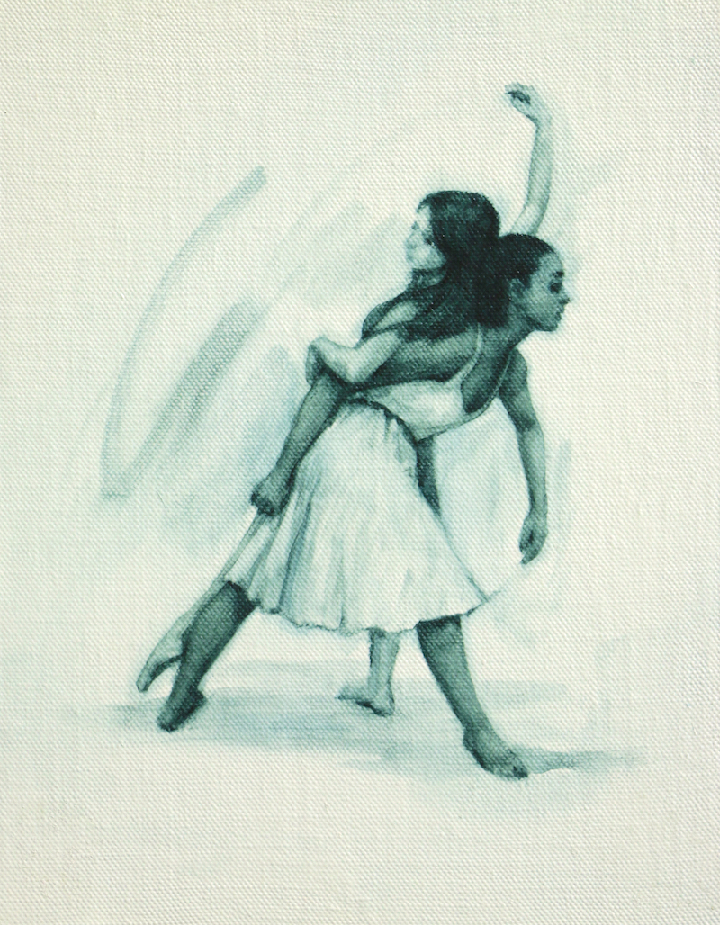 Gwenllian Davies and Krystal Lowe sketch