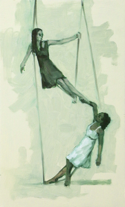 Gwenllian Davies and Krystal Lowe sketch 3