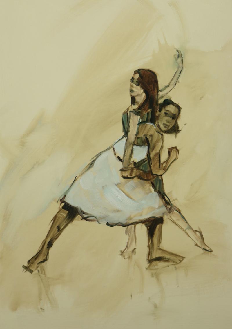 Gwenllian Davies and Krystal Lowe sketch 5