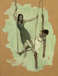 Gwenllian Davies and Krystal Lowe 10
