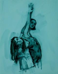 Gwenllian Davies and Krystal Lowe 12