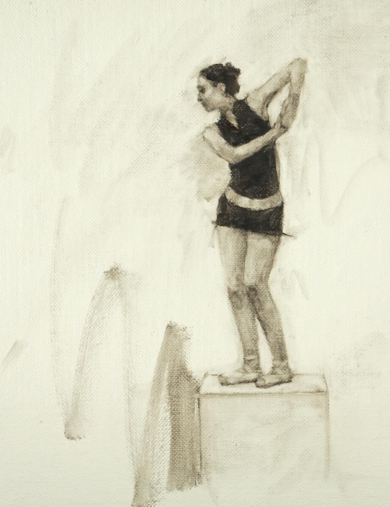 Beth Meadway (Ballet Cymru rehearsal 47)