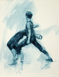 Gwenllian Davies and Daniel Morrison (Ballet Cymru rehearsal 50)