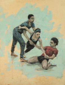 Miles, Nat and Miguel (Ballet Cymru 58)