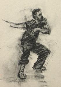 Robbie Moorcroft (Ballet Cymru rehearsal 64)