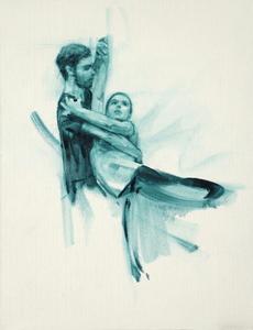 Daniel Morrison and Anna Pujol (Ballet Cymru rehearsal 70)