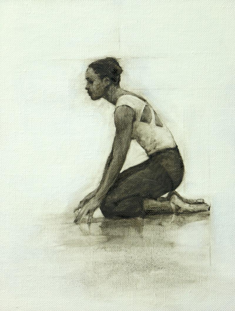 Krystal Lowe (Ballet Cymru rehearsal 74)