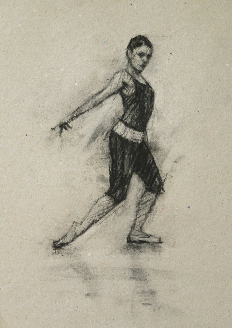 Natalie Debono (Ballet Cymru rehearsal 77)