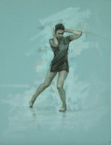 Natalie Debono (Ballet Cymru rehearsal 88)