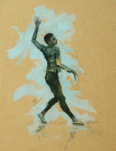 Miles Carrott (Ballet Cymru rehearsal 92)