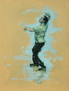 Tim Podesta (Ballet Cymru rehearsal 94)