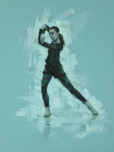 Mara Galeazzi (Ballet Cymru rehearsal 94)