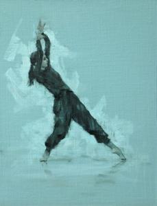 Mara Galeazzi (Ballet Cymru rehearsal 95)