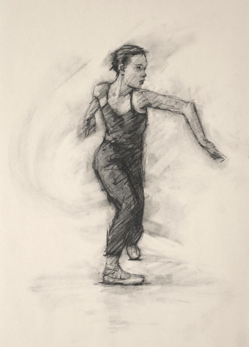 Anna Pujol (Ballet Cymru rehearsal 96)