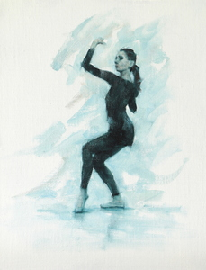 Mara Galeazzi (Ballet Cymru rehearsal 98)