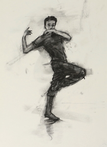 Miguel Fernandes (Ballet Cymru rehearsal 102)