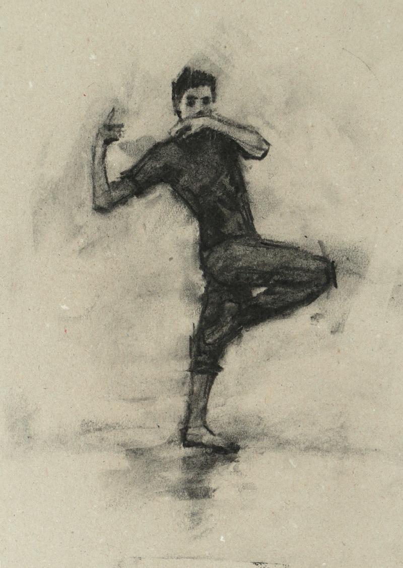 Miguel Fernandes (Ballet Cymru rehearsal 103)