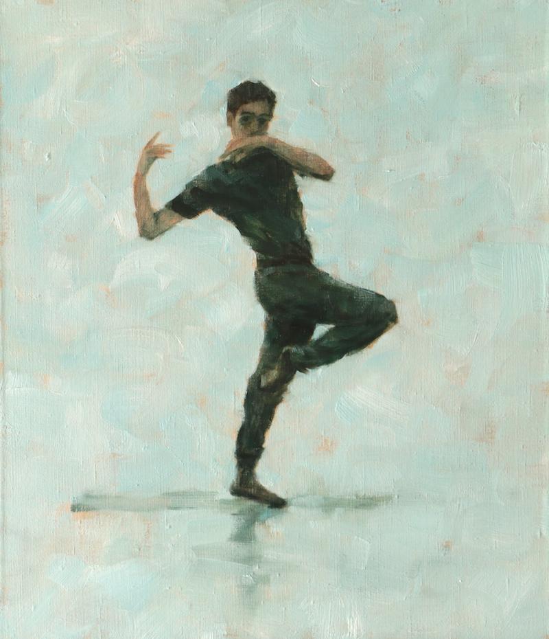 Miguel Fernandes (Ballet Cymru rehearsal 104)