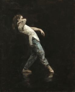 Beth Meadway (Ballet Cymru rehearsal 108)