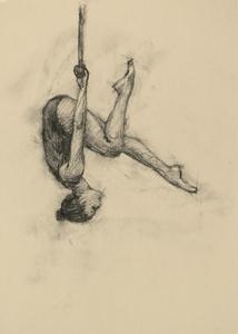 Krystal Lowe (Ballet Cymru rehearsal 111)