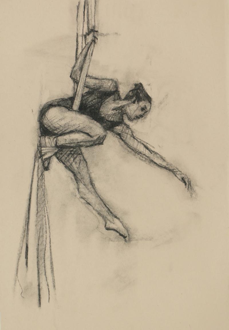 Krystal Lowe (Ballet Cymru rehearsal 114)