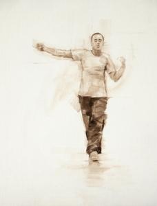 Tim Podesta (Ballet Cymru rehearsal 119)