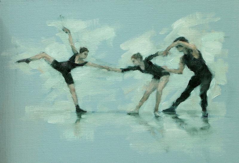 Ballet Cymru rehearsal 128