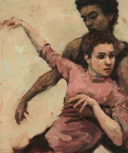 Beau Dillen and Renan Manhães (Ballet Cymru rehearsal 131)