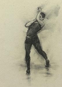 Beau Dillen (Ballet Cymru rehearsal 135)