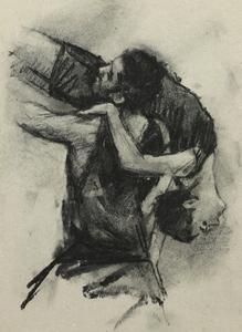 Beau Dillen and Renan Manhães (Ballet Cymru rehearsal 141)