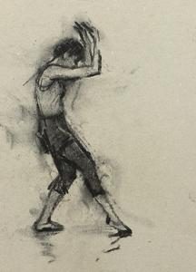 Giulia Rossi (Ballet Cymru rehearsal 145)