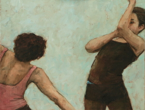 Giulia Rossi and Beau Dillen (Ballet Cymru rehearsal 146)