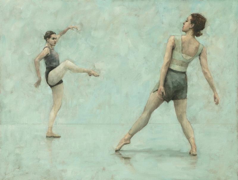 Kiby Forcos and Reetta Riikonen (Ballet Cymru rehearsal 147)