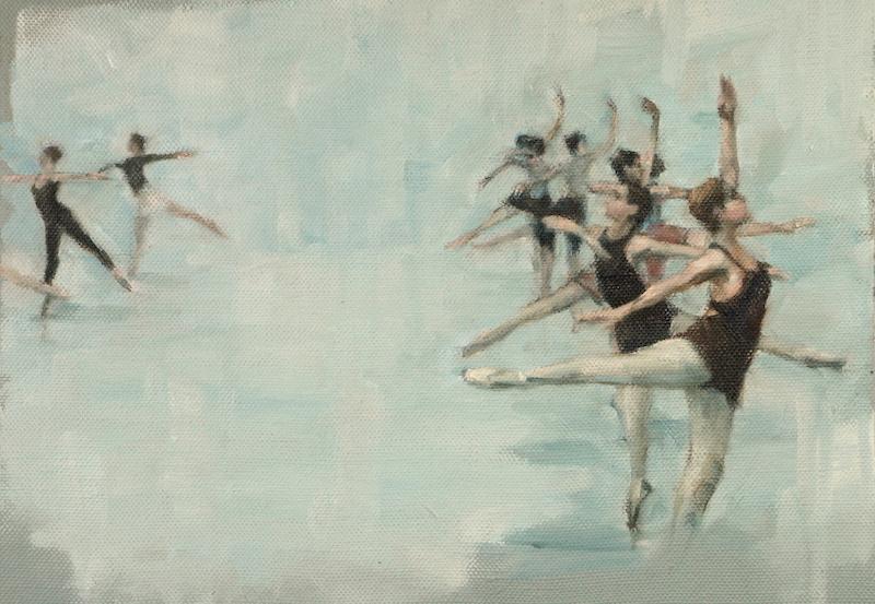 Ballet Cymru rehearsal 148
