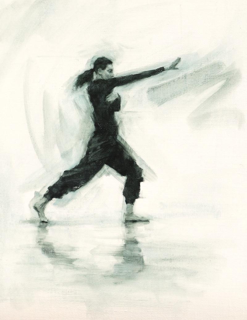 Mara Galeazzi (Ballet Cymru rehearsal 152)