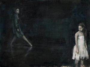 Lady Capulet and Juliet (Ballet Cymru rehearsal 164)