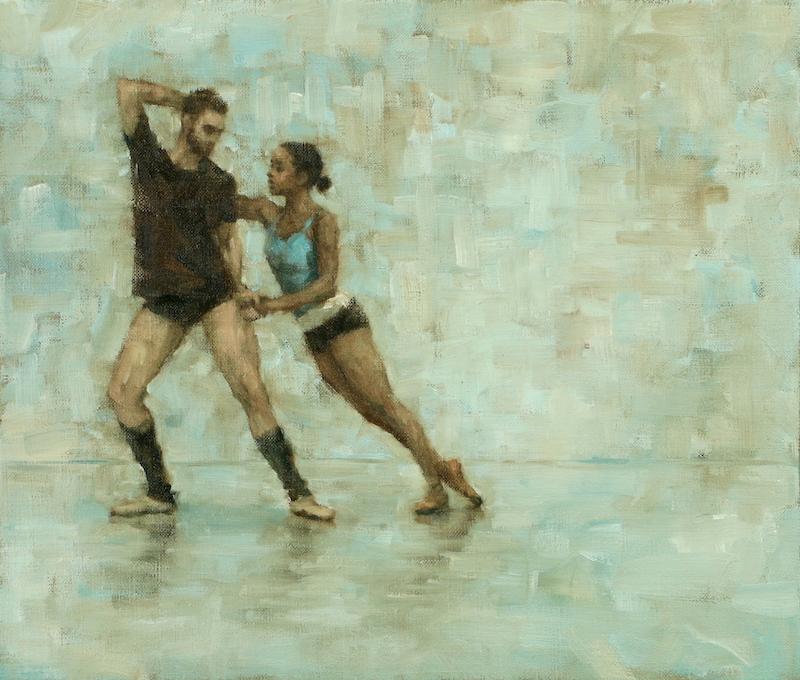 Celtic Concerto - Robbie Moorcroft and Krystal Lowe (Ballet Cymru rehearsal 174)